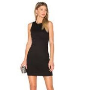 Alice and Olivia sleeveless black mini dress